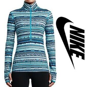 Nike Pro Hyperwarm Half Zip 8 Bit Small Pullover